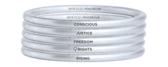 Oslo Freedom Forum Bangle Stack Of 4 ($35 each)