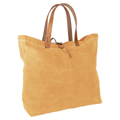 """Women Weavers"" Waxed Cotton Tote Bag + BANGLE GIFT"