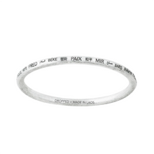 Load image into Gallery viewer, PEACE ALL AROUND BANGLE x10 BUNDLE (RRP $750)