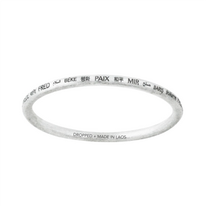 PEACE ALL AROUND BANGLE x10 BUNDLE (RRP $750)
