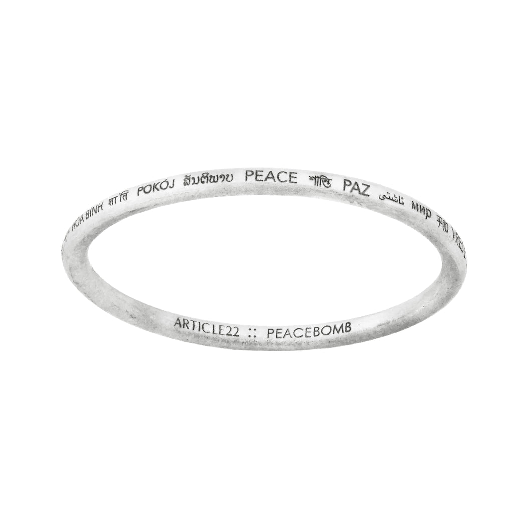 PEACE ALL AROUND BANGLE