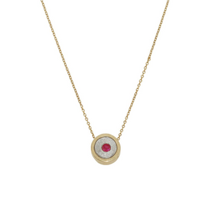 BIRTHSTONE NECKLACE AND BANGLE SET (50% OFF OUR BIRTHSTONE BANGLE WHEN PURCHASED TOGETHER)