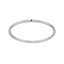 Load image into Gallery viewer, Birthstone 14K Gold 3 Stone Bangle
