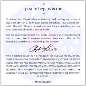 "The ""Peace Begins In Me"" True Inspirations Necklace"