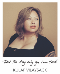 """TELL THE STORY ONLY YOU CAN TELL"" BANGLE - KULAP VILAYSACK COLLABORATION"