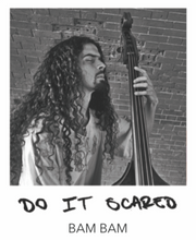 "Load image into Gallery viewer, ""DO IT SCARED"" BANGLES - BAM BAM COLLABORATION"