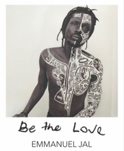 "Load image into Gallery viewer, ""BE THE LOVE"" BANGLE - EMMANUEL JAL COLLABORATION"