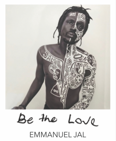 """BE THE LOVE"" BANGLE - EMMANUEL JAL COLLABORATION"