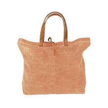 "Load image into Gallery viewer, ""Women Weavers"" Waxed Cotton Tote Bag + BANGLE GIFT"