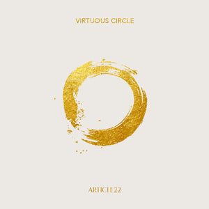 VIRTUOUS CIRCLE LARGE HOOPS