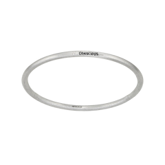 Your Message White Diamond Bangle