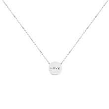 Load image into Gallery viewer, WEAR YOUR VALUES MANTRA NECKLACE