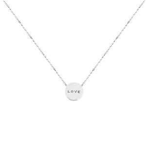 WEAR YOUR VALUES MANTRA NECKLACE