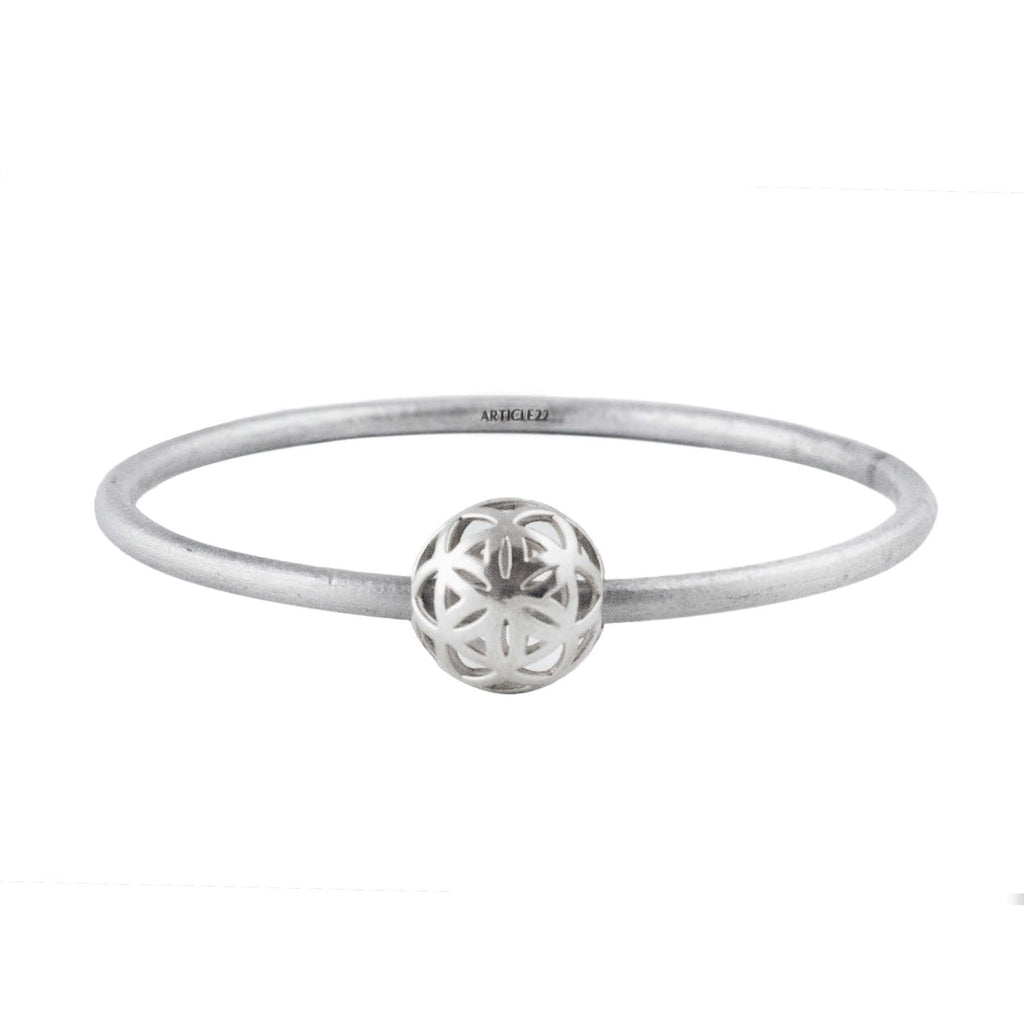 SPHERIC SEED of Life Bangle