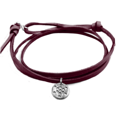 FRUIT of Life Leather Bracelet