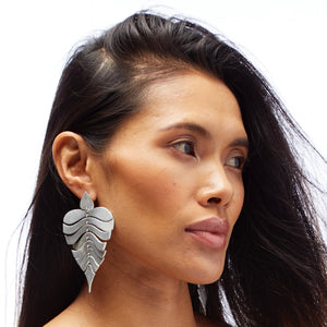 In the Breeze, Bodhi Leaf Earrings