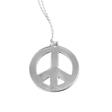 Load image into Gallery viewer, PEACE SIGN ORNAMENT