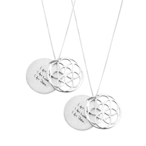 SEED OF LIFE NECKLACE  SET OF 2 - SALE 30% OFF