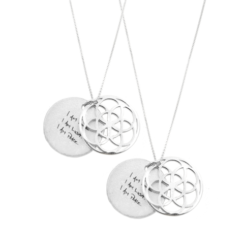SEED OF LIFE NECKLACE  SET OF 2 - SALE $195 OFF