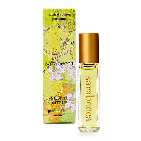Floral Citrus Roll-On Perfume