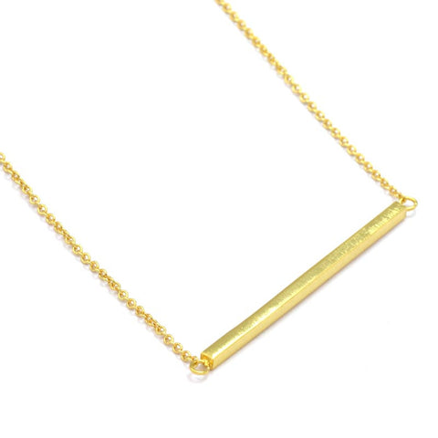 Simple Bar Necklace