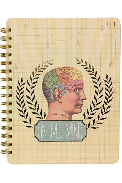 On My Mind Spiral Notebook