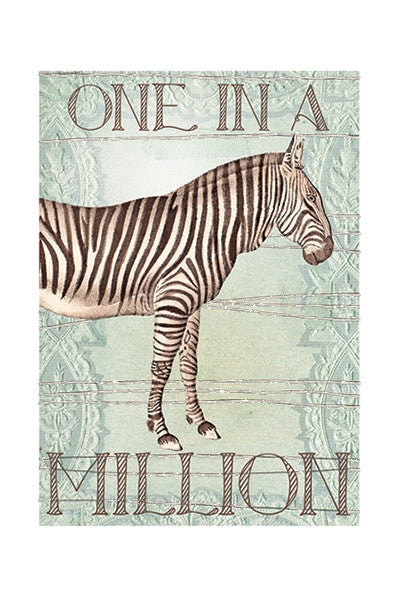 One In A Million Small Card