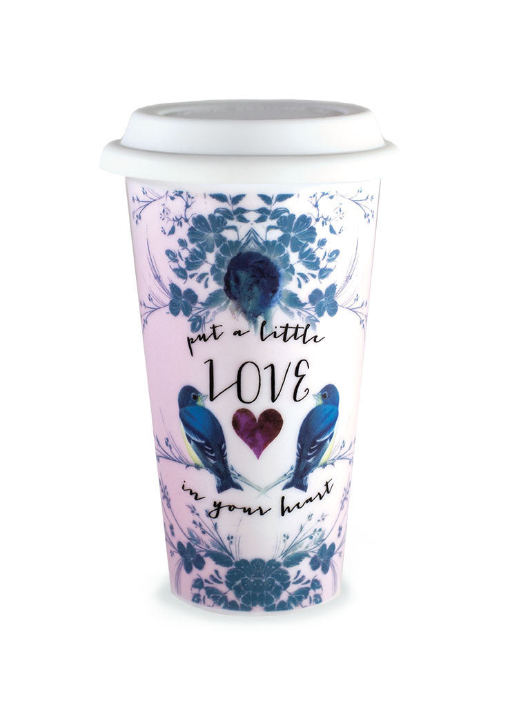 Love In Your Heart Travel Mug