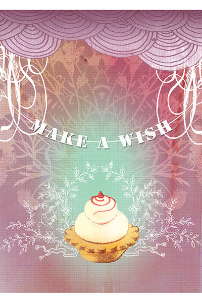 Cupcake Wish Birthday Card