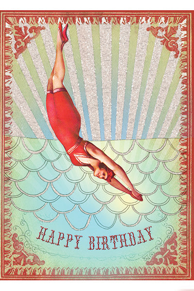 Birthday Diver Card