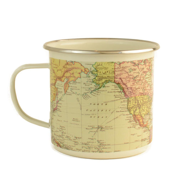 Antique Map Mug