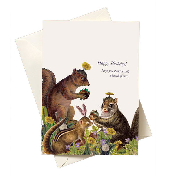 Nutty Birthday Card
