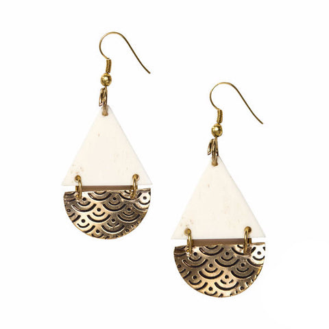 fair trade hand made jewelry earrings