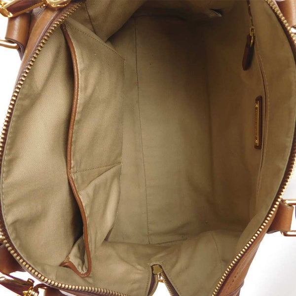 banana republic handbag brown interior k378393