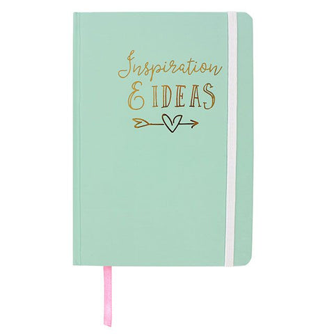 Hardback A5 notebook - Inspiration & Ideas
