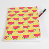 A5 Paperback Notepad - Watermelon