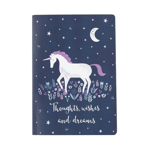 A5 Paperback Notepad - Unicorn Magic