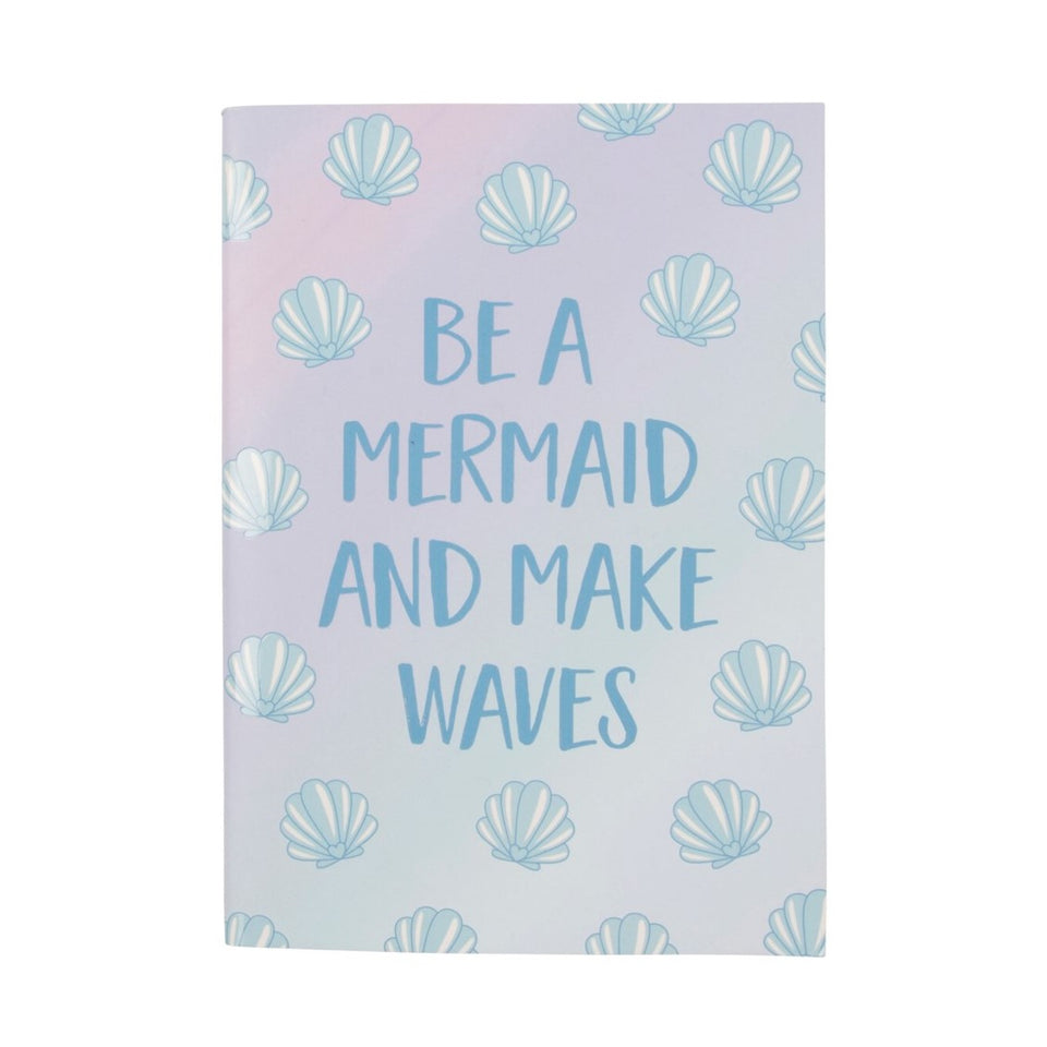 A5 Paperback Notepad - Mermaid