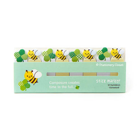 Sticky tabs - bumble bee