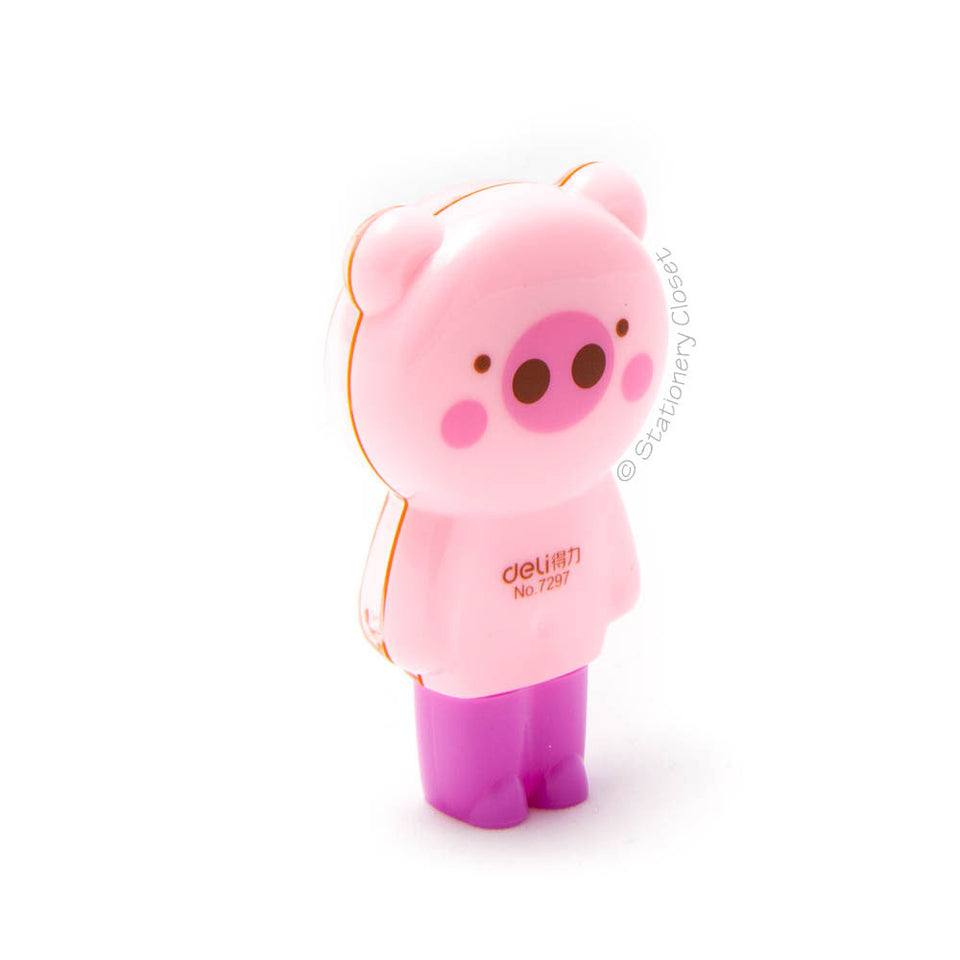 Animal correction tape - pig