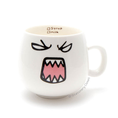 Emotive mug - fierce