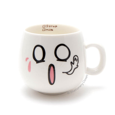 Emotive mug - terrified