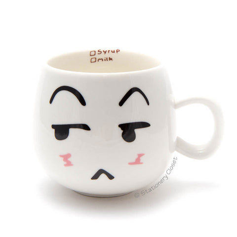 Emotive mug - sulky