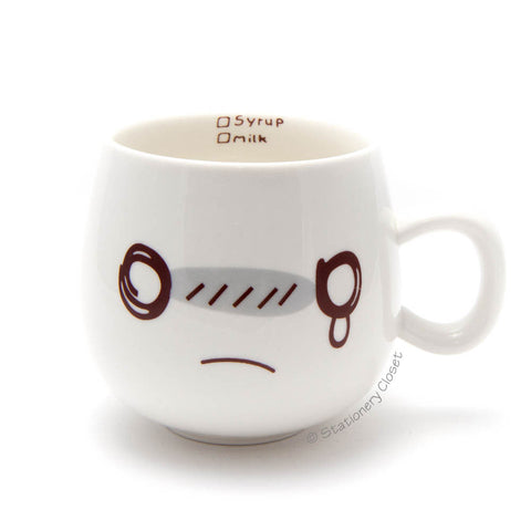 Emotive mug - crying