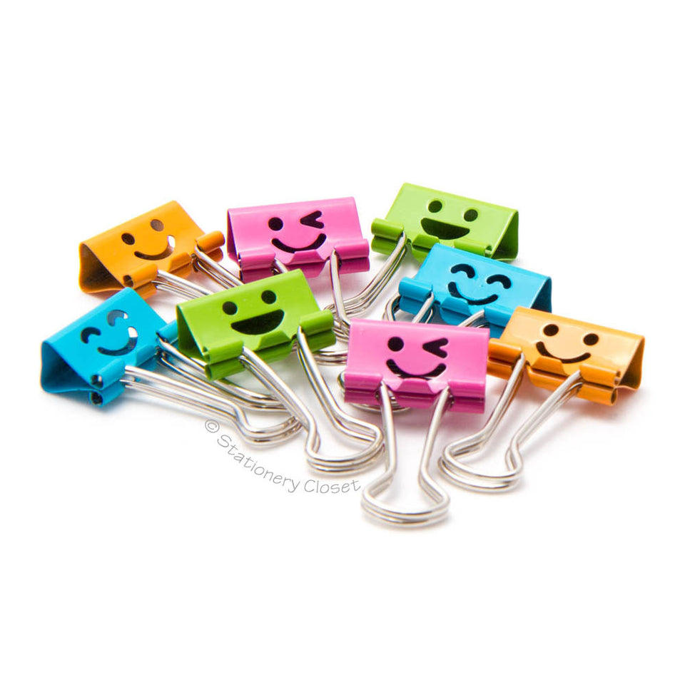 Emotive fold-back clips - pack of 8
