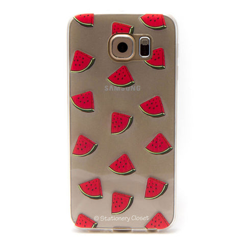 Samsung Galaxy S6 case - small watermelon slices