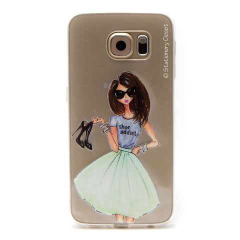 Samsung Galaxy S6 case - shoe addict