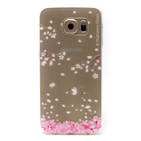 Samsung Galaxy S6 case - pink blossom