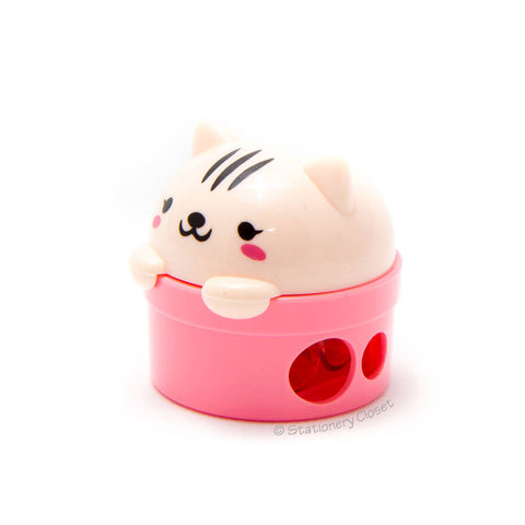 Bear pencil sharpener - pink