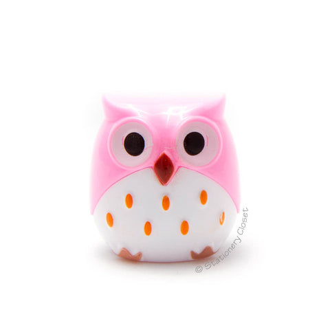Owl pencil sharpener - pink